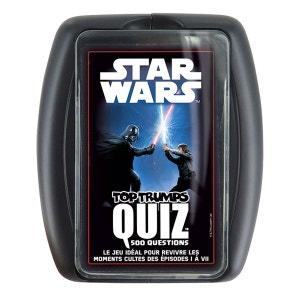 Top Trumps Quiz Star Wars : Episode I à VII WINNING MOVES
