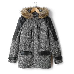 Hikys Faux Fur Hood Coat 2TWO