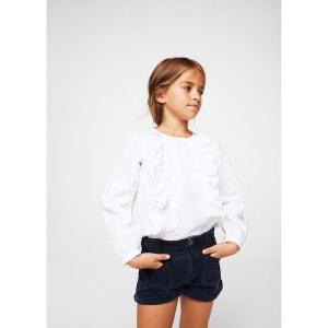 Short en velours côtelé avec poches MANGO KIDS