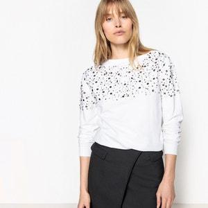 Sweatshirt mit Schmuckelementen La Redoute Collections