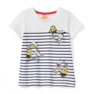 Gestreept T-shirt 3-12 jr LES MINIONS