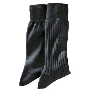 Chaussettes (lot de 2) 100 % fil d'écosse R Reference