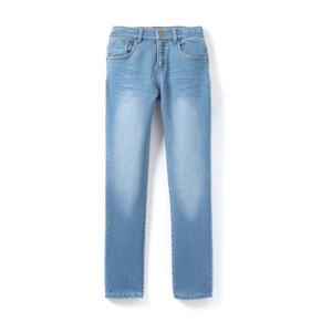 Spodnie w stylu dżinsów wykonane z molletonu 3-12 lat abcd'R
