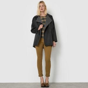 Zweifarbiger Mantel, Handarbeit R essentiel