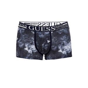Boxer En Coton Stretch Imprime GUESS
