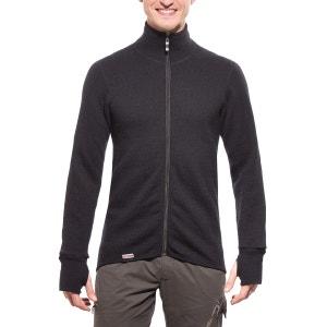 Full Zip Jacket 600 - Sweat-shirt - noir WOOLPOWER