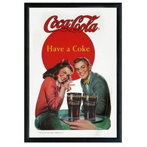 Miroir rectangulaire à suspendre Coca cola SUD CARGO