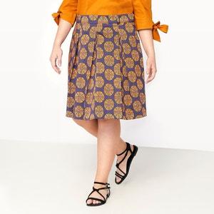 Wax Print Skater Skirt CASTALUNA