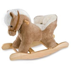 Cheval à Bascule Bébé avec Siège  - Avec Effets Sonores - DOUHO1210 DOUDOU ET COMPAGNIE