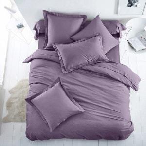 Housse de couette unie coton/polyester SCENARIO