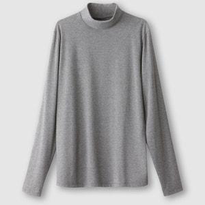 Camisola de mangas compridas e gola redonda R essentiel