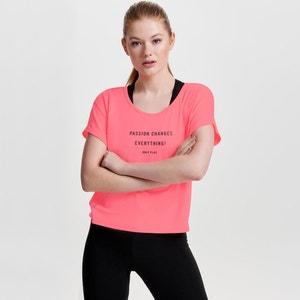T-Shirt mit rundem Ausschnitt und Motiv ONLY PLAY