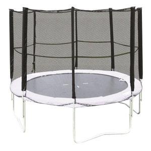 Hudora HD-NET-35-EU Filet de sécurité pour trampoline de 305 cm de diamètre HUDORA