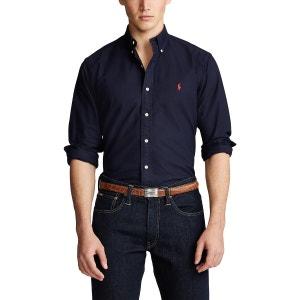 Camisa recta custom fit Oxford