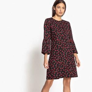 Cherry Print Shift Dress ONLY