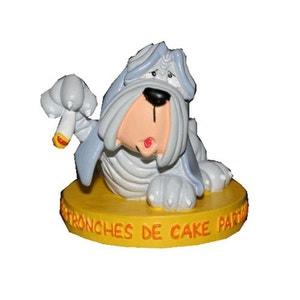 CHIEN Figurine Tronche De Cake Partout ABYSMILE