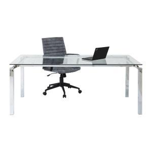 Chaise de bureau transparente La Redoute