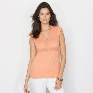 T-shirt, aspeto enrugado ANNE WEYBURN