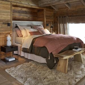Cabecero de cama de lino al. 115 cm, Yliana