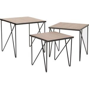 table industrielle la redoute. Black Bedroom Furniture Sets. Home Design Ideas