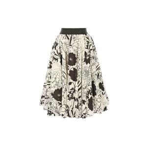 Printed Midi Skirt RENE DERHY