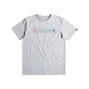 T-shirt com gola redonda QUIKSILVER