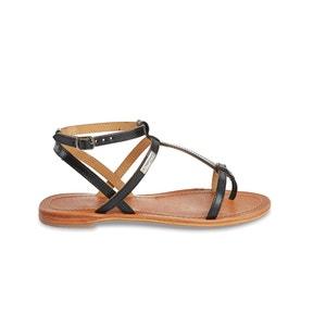 Sandales cuir plates Hilan LES TROPEZIENNES PAR M.BELARBI