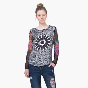 Bedrukte blouse met lange mouwen DESIGUAL