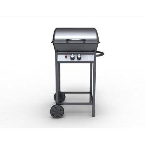 CHANDLER - Barbecue à gaz 2 bruleurs + ustensiles CONCEPT USINE