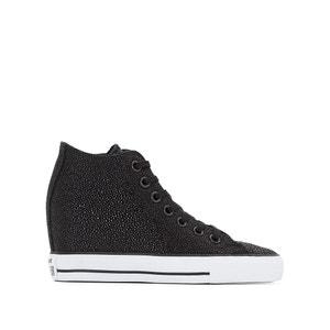 Sneakers in leer met sleehak CTAS Lux Mid CONVERSE