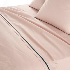 DUO Cotton Percale Flat Sheet La Redoute Interieurs