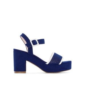 Sandali piattaforma cinturino ricamato MADEMOISELLE R