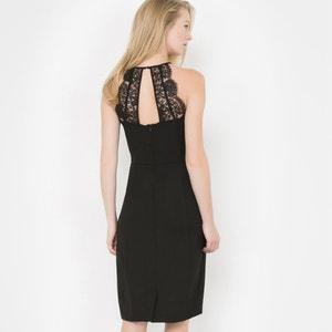 Vestido de encaje, sin mangas, espalda abierta atelier R