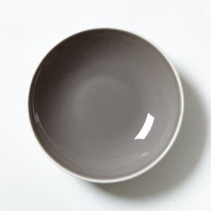 4er-Set Suppenteller, Steingut, matt La Redoute Interieurs