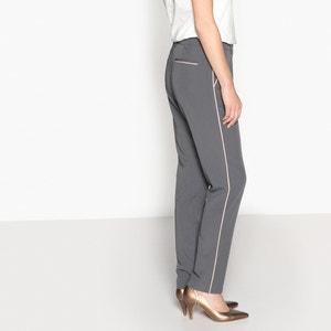 Pantalon droit, sergé stretch ANNE WEYBURN