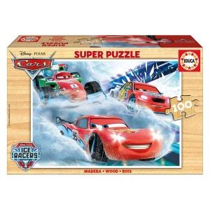 Puzzle 100 pièces : Cars EDUCA