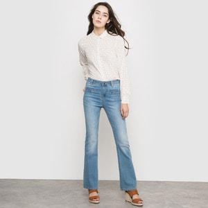 Stretch High Waist Flared Jeans VILA