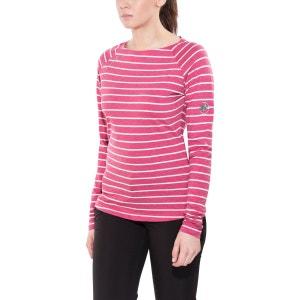 Wall - T-shirt manches longues - rose MAMMUT