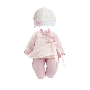 Habillage poupée Petitcollin 28 à 35 cm : Bonbon rose PETITCOLLIN