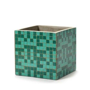 Pot Béton Cubique Marie Mosaïque Verte 17 x 17 x 17 cm Serax SERAX