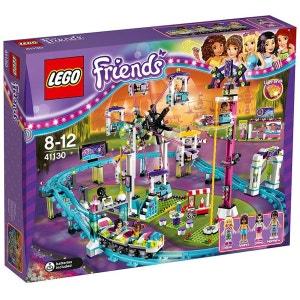 Les montagnes russes du parc d'attractions 41130 LEGO