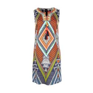 Kleid, bedruckt, ärmellos RENE DERHY