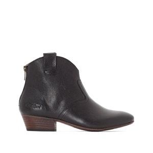 Boots in leer Western KICKERS