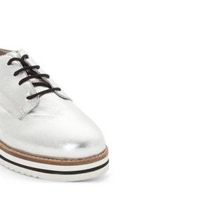 Sapatos derbies em pele Avocado COOLWAY