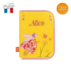 Protège carnet de Santé Luciole aux papillons Brodé Alice - L'Oiseau Bateau L OISEAU BATEAU