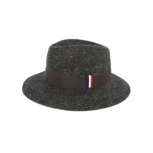 Chapeau en feutre de laine Gris foncé Chiné 1789 CALA