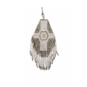 Collier Java Diamond Gris, Blanc et Argent AMADORIA