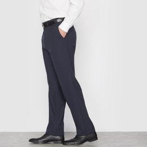 Stretch Suit Trousers Without Darts, Length 1 CASTALUNA FOR MEN