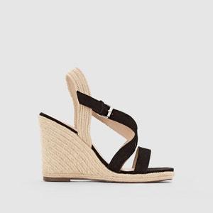 Wedge Heel Strappy Espadrilles Sandals JONAK