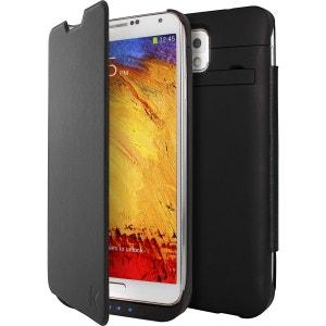 Coque Batterie avec clapet 3000mAh pour Samsung Galaxy Note 3 Noir THE KASE